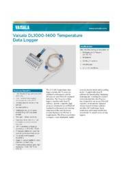 温度データレコーダー VL-1000/1400シリーズ 表紙画像