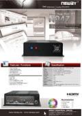 車載用PC NEWAY N947 製品マニュアル 表紙画像