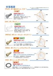 【樹脂製品】材質概要・データ資料 表紙画像