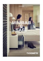 冷蔵機器『ミニバー&プロセーフ&ワインセラー』総合カタログ 表紙画像