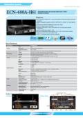 小型PC IEI ECN-680A-H61 製品カタログ 表紙画像
