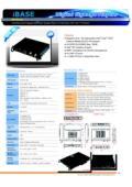 小型PC IBASE iOPS-76 製品カタログ 表紙画像
