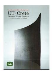 セメントボード下地材「UT-Crete(ユーティークリート)」 表紙画像