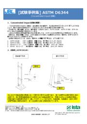 ASTM D6344 Concentrated Impact試験 表紙画像