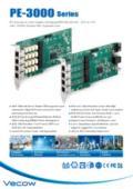 Vecow 産業用ギガイーサネットカード PoE+×4【PE-3004】 表紙画像