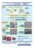 ビーズミル ナノ粒子粉砕・分散加工