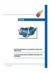 斜軸式固定容量ピストンポンプモーター「H1CR シリーズ」 表紙画像