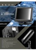 液晶ディスプレイ XENARC 805TSV 製品カタログ 表紙画像