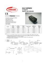 CINCON DLD シリーズ LED照明 DC/DC電源 57W 定電流 表紙画像