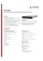 MCS-2080 表紙画像