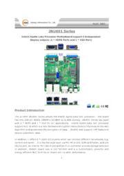 Jetway NUC規格CPUボード【JNU691シリーズ】 表紙画像