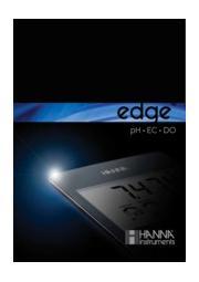 edge(エッジ) pH/EC/DO(溶存酸素)計  表紙画像