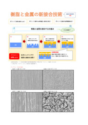 樹脂と金属の新接合技術 表紙画像