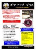 プレミアムギヤオイル添加剤 「ギヤアッププラス」 表紙画像