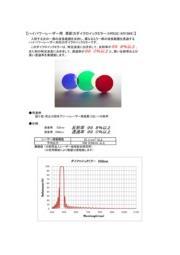 ハイパワーレーザー用 高耐ダイクロイックミラー 表紙画像
