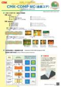 高放熱メタル複合配線板『CMK-COMP MC(金属コア)』