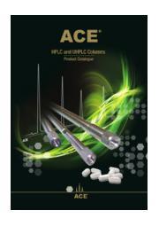 ACE HPLC / UHPLC用シリカ系カラム 表紙画像