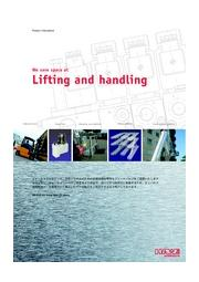 Lifting  and handling(フォークリフト、リフター)製品パンフレット 表紙画像