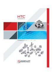高純度ライン用 面シール継手/溶接継手 『HTCシリーズ』 表紙画像