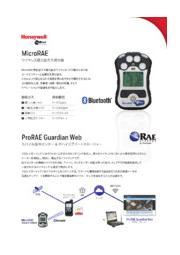 ワイヤレス複合型ガス検出器|MicroRAE 表紙画像