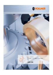 PDCツールのコンプリート加工用ディスク式放電加工機「QXD 250」製品カタログ 表紙画像
