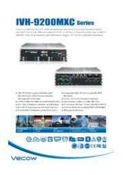 CAN Bus/M12コネクタ付(Xコード)ニーズによる最新第7世代プロセッサ選定頂けるファンレスPC IVH-9200MXC 表紙画像