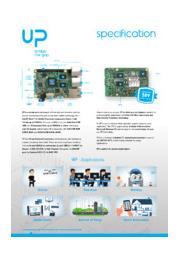 AAEON Raspberry Pi I/Oコンパチ インテル搭載UPボード 表紙画像