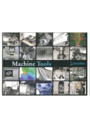 オークマ社 マシンツール「CNC旋盤・複合加工機・研削盤・他」 表紙画像