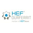 HEF DURFERRIT JAPAN株式会社 ロゴ