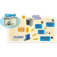 独立電源用【キャパシタ&太陽電池】活用事例