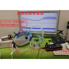 流水式超音波システム
