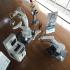 スワンロボット塗装システム 社内展示