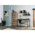 FE74411・74521 施工例 ACTUS による「理想のホームオフィス」 方眼紙柄の壁紙に木目
