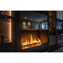 エタノール燃料暖炉「バーナー」タイプ施工例