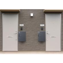 設置例:各戸の扉付近に設置