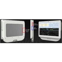 医療用の21.5/24型液晶一体型タッチパネルPC全体図