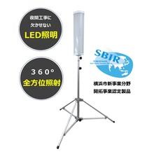 仮設照明器具「スーパートライト360」