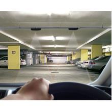 天井取付型の車両カウントセンサー『CCS2(双方向判別タイプ)』 取り付けイメージ