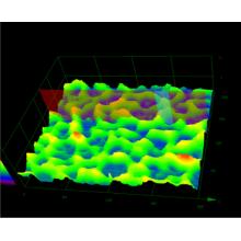 塗装部のレーザー顕微鏡3Dマップ