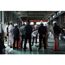 床の沈下修正「テラテック工法」施工現場見学会
