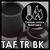 耐熱黒 (TAF TR BK)
