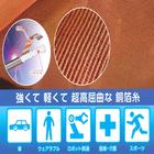 銅の抗菌効果でウイルス対策!【使用事例進呈】銅箔糸シート 製品画像