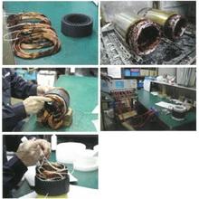 モーター巻線の製作工程 製品画像