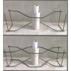 ガードレール支柱基礎補強筋『K-GH』【ひび割れに負けない】 製品画像
