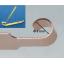 銅合金の電子部品のカール曲げ加工事例 製品画像