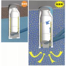 【耐震化対策】メンテナンスフリーで安心のマンホールVD工法 製品画像