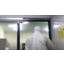 【導入事例】食品工場 床レールタイプのサッシドアの自動化 製品画像