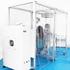 医療従事者をコロナウイルスから守る 陰圧ブース「ドクターバリア」 製品画像
