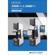 ブリネル硬さ試験機『NEXUS 3300FA/3400FA』 製品画像
