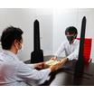 コロナウイルス飛沫防止塩ビ製パーテーションシート 製品画像
